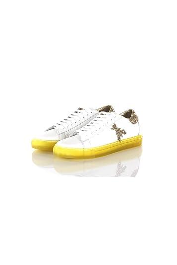 online retailer 212c3 8132b Amazon.com | PATRIZIA Sneakers Donna Pepe 37 Bianco/Giallo ...