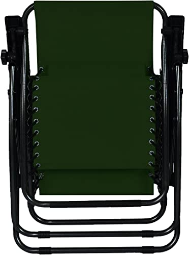 Cheap Odaof Zero Gravity Chair Recliner Patio Chairs Outdoor Lounge Chair Folding Beach Chairs Green outdoor recliner for sale