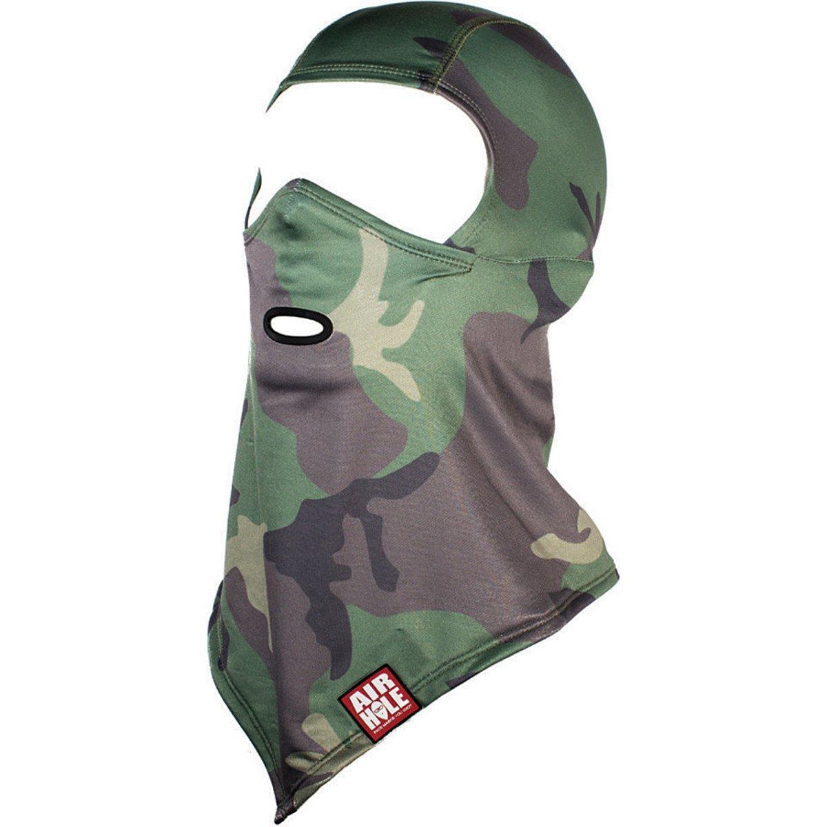 Airhole Adult Woodland Standard Balaclava Face Mask, One Size