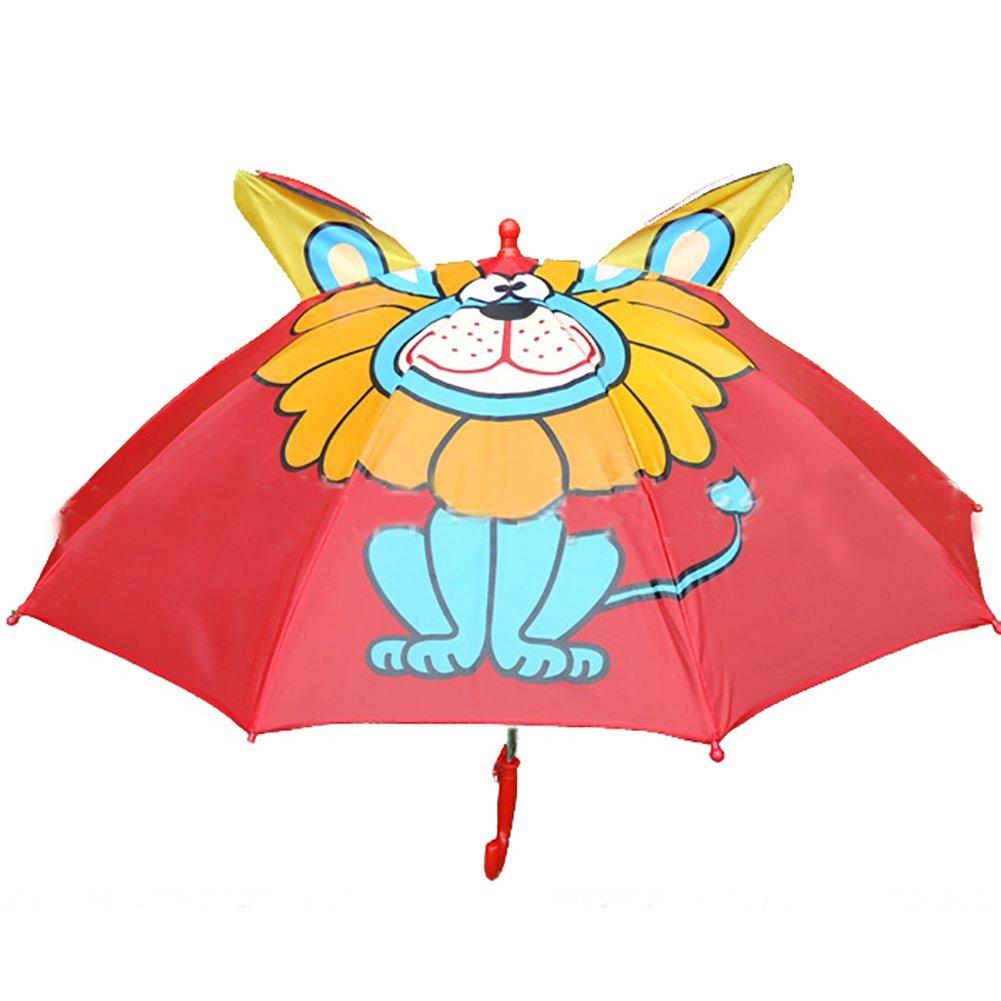 jspoir melodiz Joven y maedchen dibujos animados Niños paraguas, JM-KINDERSCHIRM-LOEWE (Azul) - JM-KINDERSCHIRM-LOEWE: Amazon.es: Equipaje