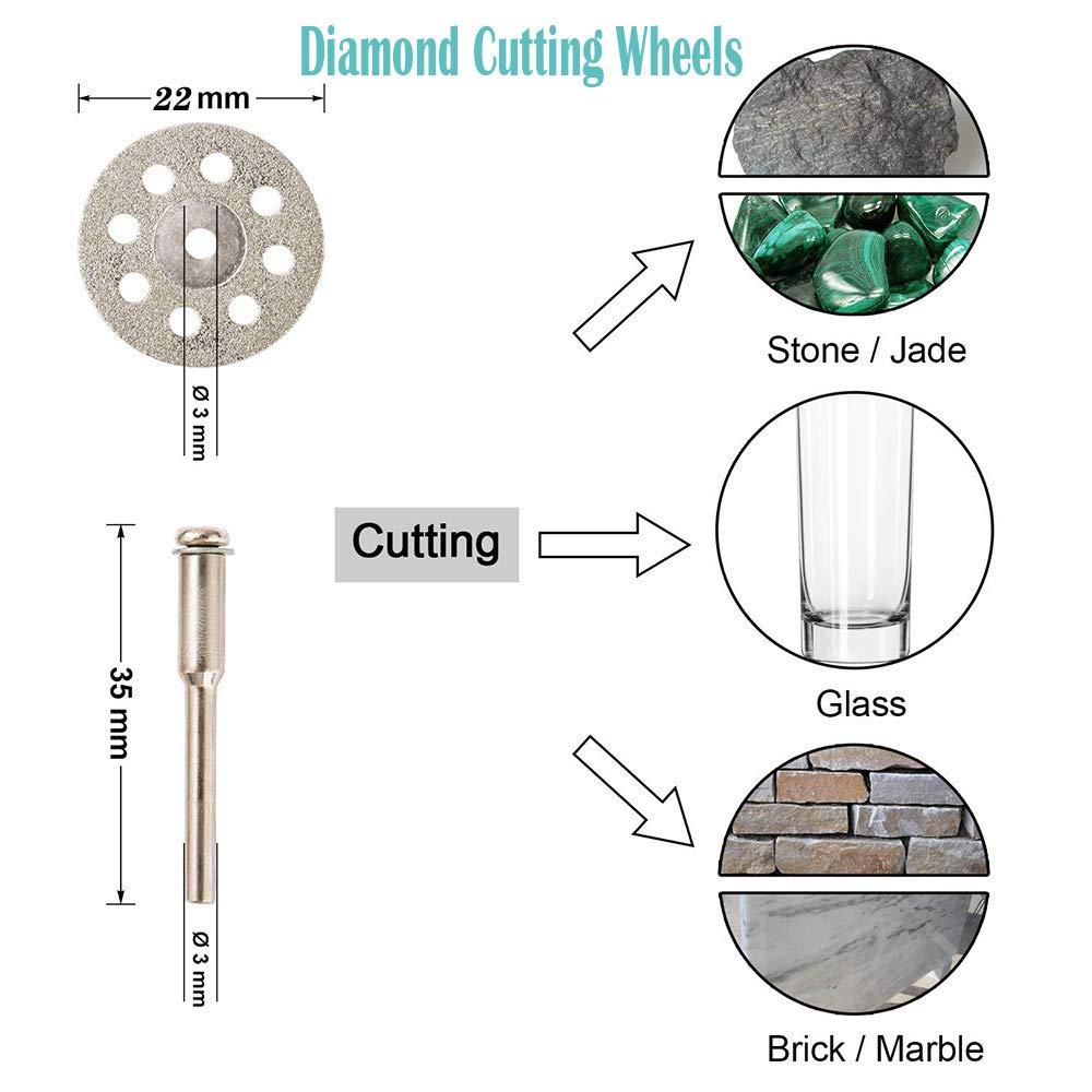 115mm Disco de Corte Del Segmento de La Rueda de Molienda de Diamante Profesional Para Hormig/óN de M/áRmol Granito Piedra Natural Ladrillo 100 mm 115 mm