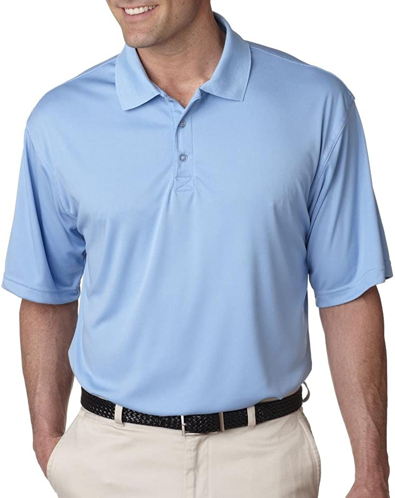 UltraClub Mens Cool /& Dry Sport Performance Interlock Polo