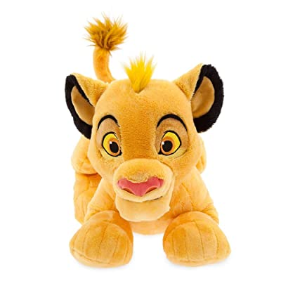 Disney Simba Plush – The Lion King – Medium – 17'': Toys & Games