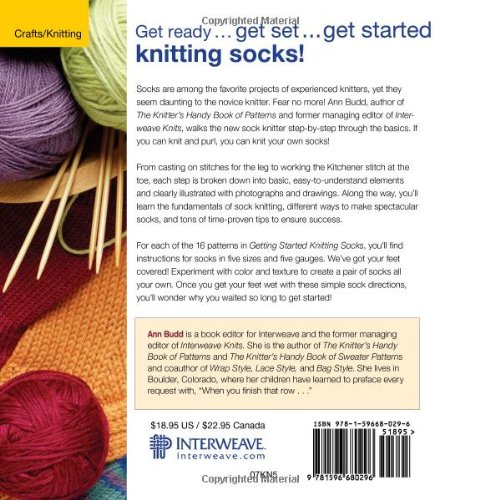 Amazon Getting Started Knitting Socks Getting Started Series
