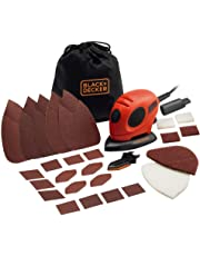 BLACK+DECKER KA161BC Mouse Detail Sander with Accessories