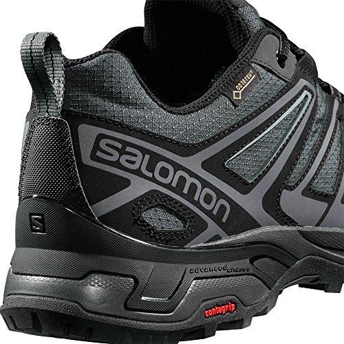 Salomon X Ultra 3 Prime GTX, Stivali da Escursionismo Uomo Multicolore (Magnet/Black/Quiet Shade 000)