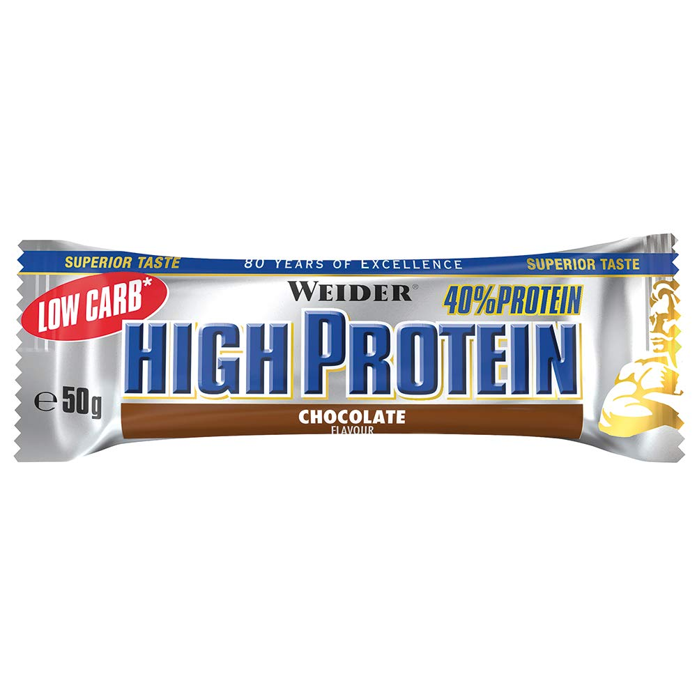 weider low carb high protein bar test