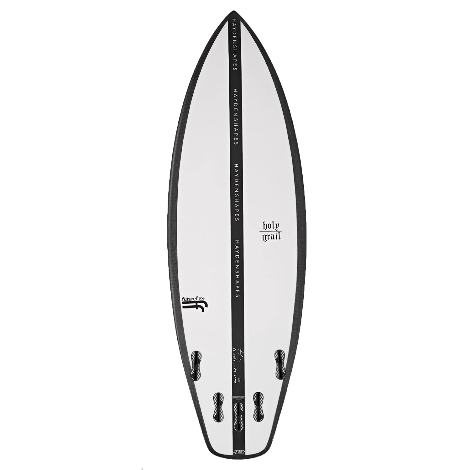 Hayden Shapes Holy Grail Future Flex FCS II - Tabla de Surf (1,5 m), Transparente: Amazon.es: Deportes y aire libre
