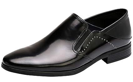 HhGold Traje Formal de Negocios de Zapatos de Hombre Forro ...