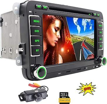 Radio para coche (compatible con Volkswagen, Skoda, Seat), incluye ...