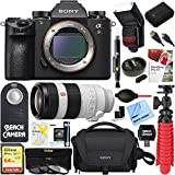 Sony a9 24.2MP Full-frame Mirrorless Interchangeable Lens Camera + 100-400mm Super Telephoto Zoom Lens Accessory Bundle