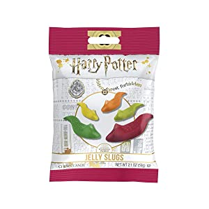 Jelly Belly Harry Potter Jelly Slugs Gummi Candy Slugs 2.1 oz (Packaging May Vary)