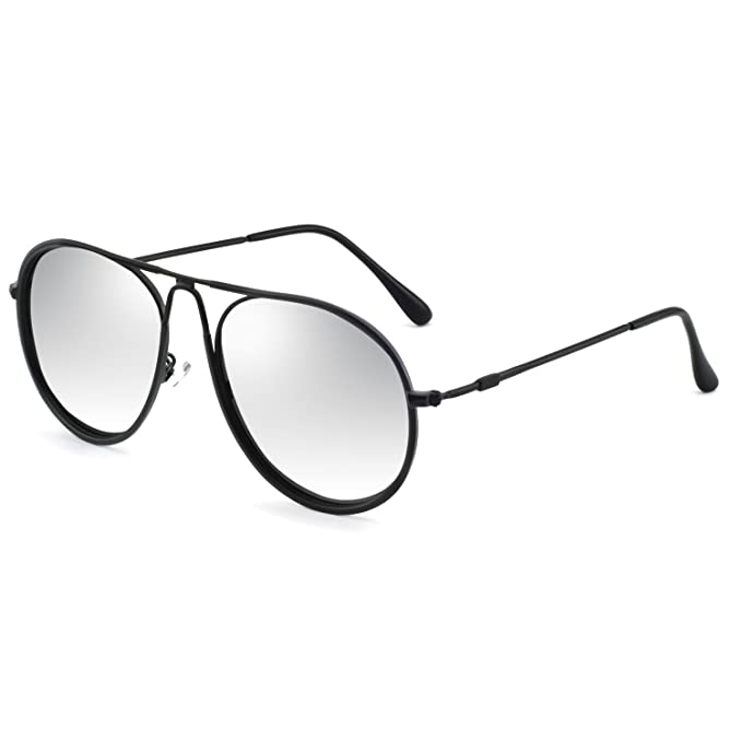 8d469ab080e OCCI CHIARI Fashion Round polaroid Lens aviator sunglasses 100% UV  Protection Metal frame for women