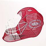 Montreal Canadiens Goalie Helmet Bottle and Cork Cage Holder