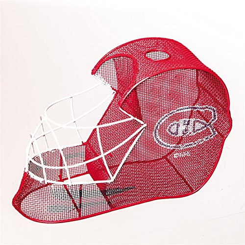 Montreal Canadiens Goalie Helmet Bottle and Cork Cage Holder