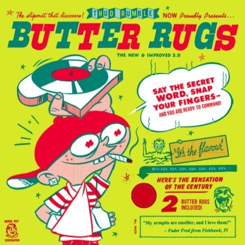 Thud Rumble Butter Rug Slipmat Pair