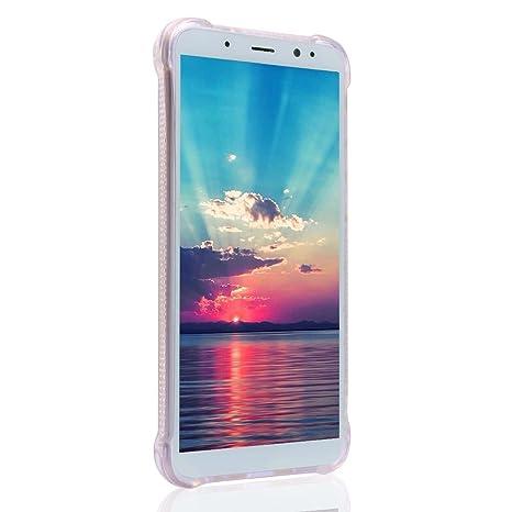 Asnlove Funda Mate 10 Lite, 3D Silicona Carcasas para Huawei Mate 10 Lite (5.9 Pulgada), Glitter Líquido Dinámico Arena Movediza TPU Case Cristal Sparkle ...