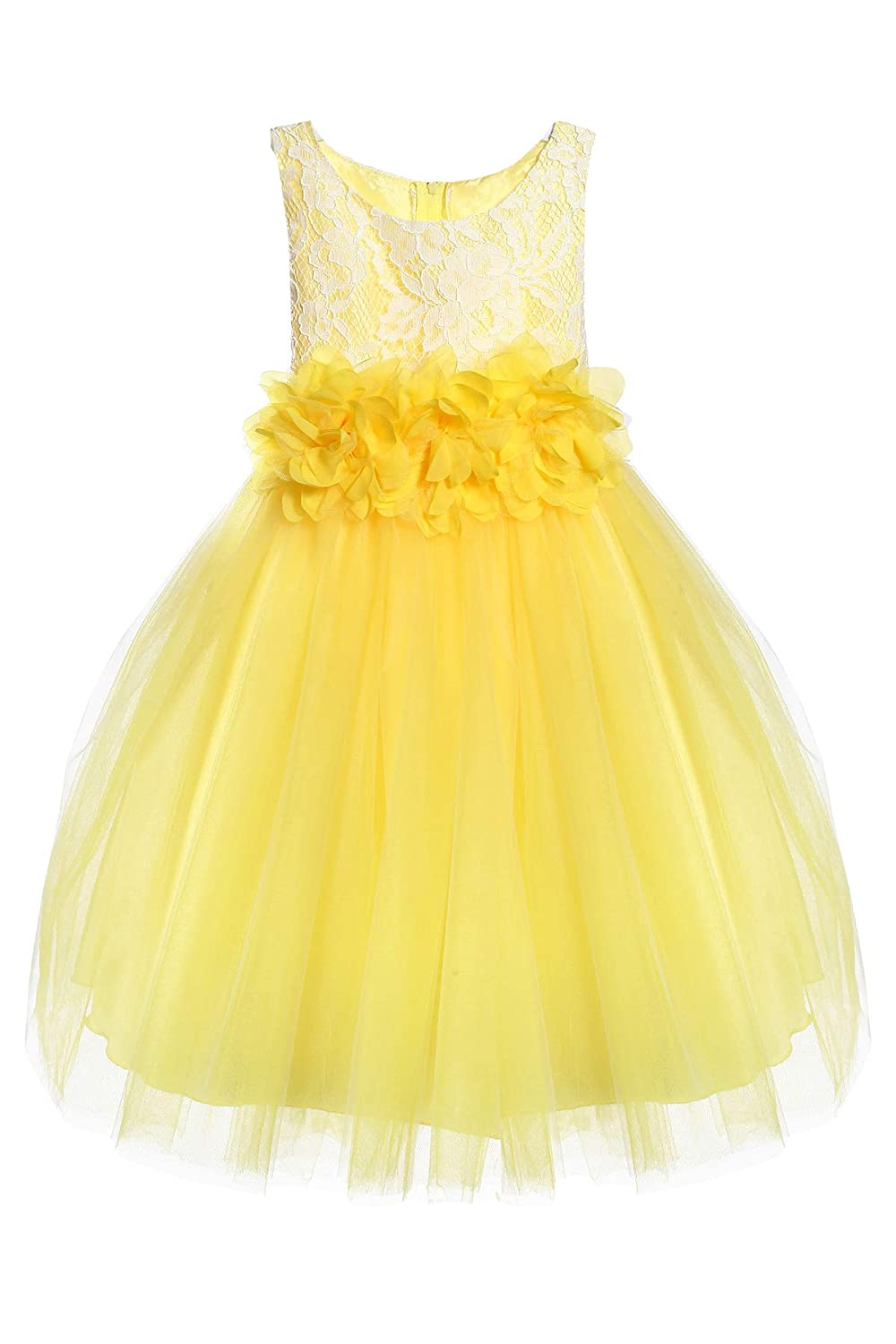 659c59b27 ... tulle dress Size 6 months-12. This elegant knee length dress is perfect  for your little girl. Great for flower girl, party, birthday, spring and  special ...