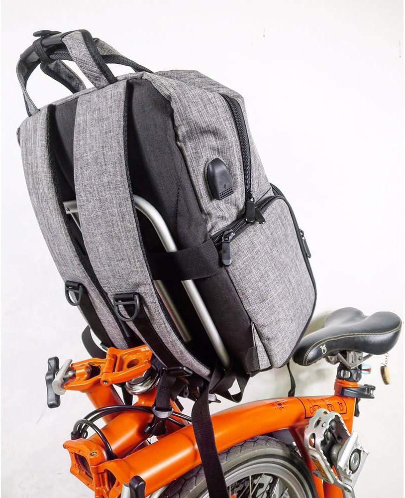 Trigo Front Carrier Bag Frame For Brompton Backpack Handbag Basket S Bag Super