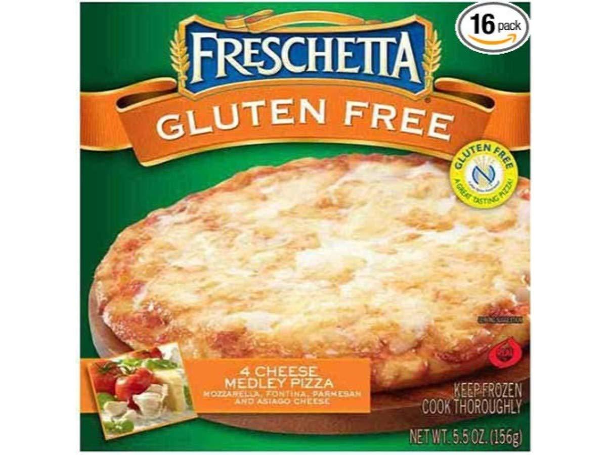 Freschetta Thin and Crispy Cheese Pizza, 5.5 Ounce -- 16 per case. by Schwan's