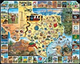 1000 piece puzzles donuts - White Mountain Puzzles Best of Texas - 1000 Piece Jigsaw Puzzle