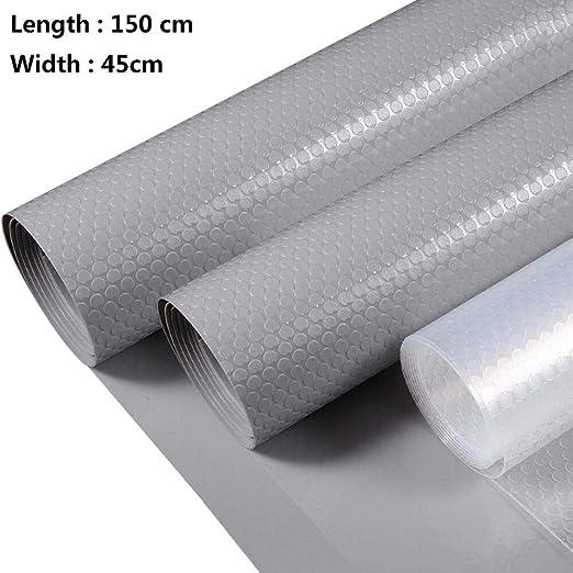 Lavable AIEVE 2 Rollos 150 x 45 cm para armarios y frigor/íficos Alfombrilla Antideslizante para Estante de cajones