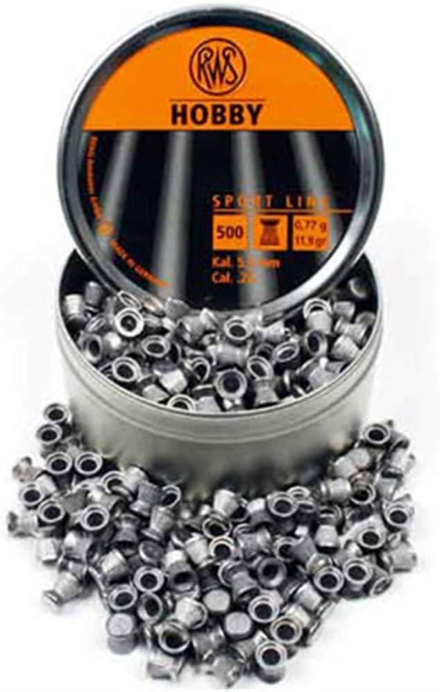 Hobby Balines para armas de fuego de aire comprimido, calibre .22