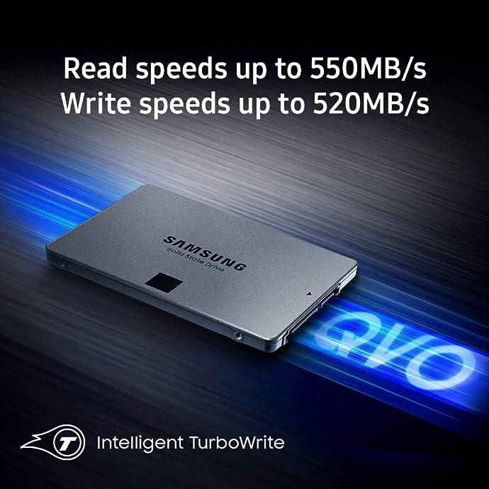 SAMSUNG 三星 860 QVO(MZ-76Q2T0B)2TB SSD固态硬盘 SATA3.0接口 7.7折$199.99 海淘转运到手约¥1567 中亚Prime会员免运费直邮到手约¥1556