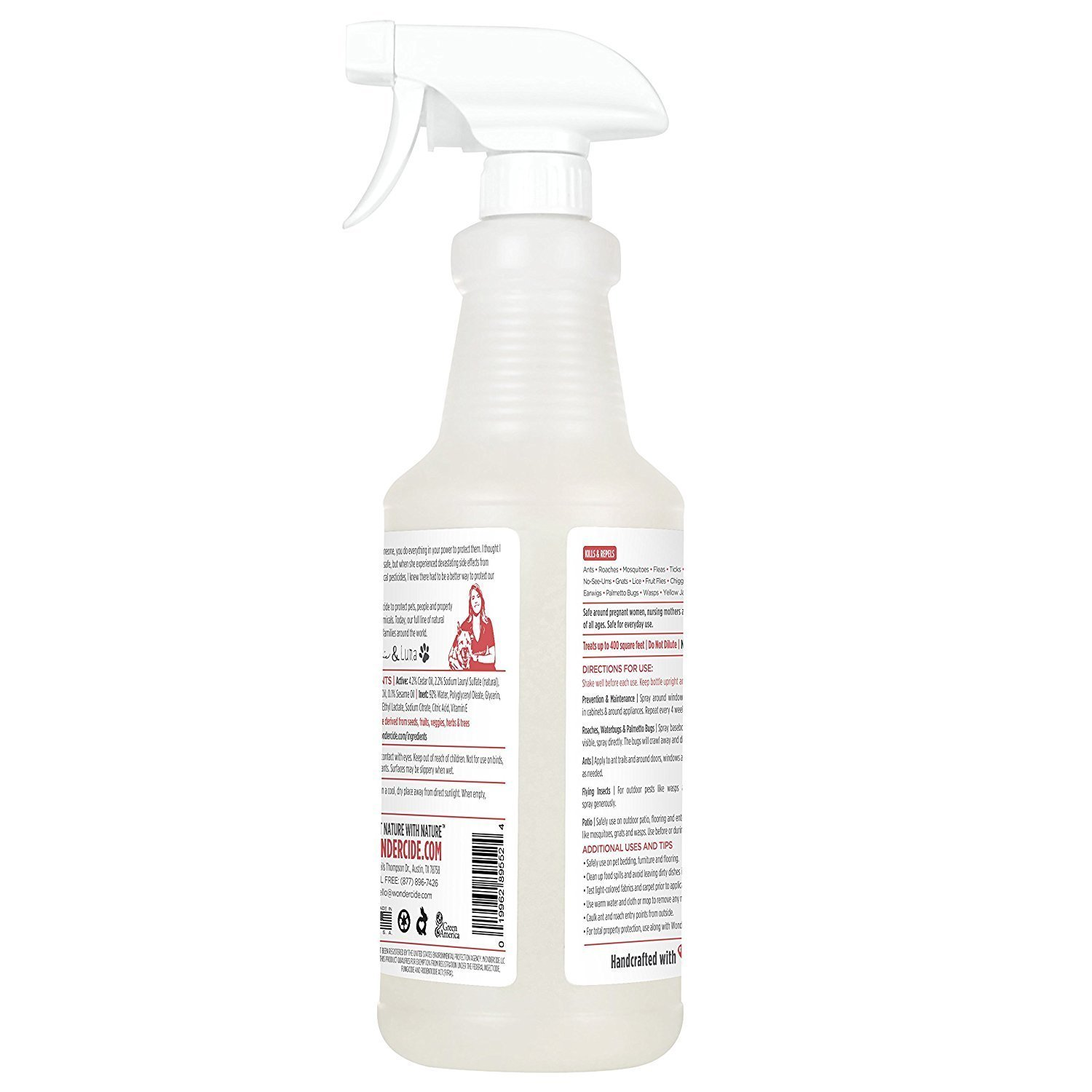 Wondercide Natural Indoor Pest Control Home and Patio Spray 32 oz Peppermint by Wondercide (Image #8)