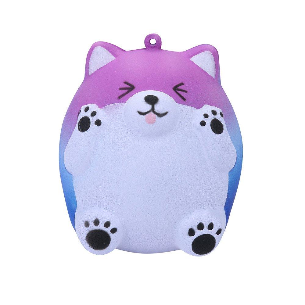 Sunbona❤️ Clearace Squishy Jumbo Galaxy Cute Bear Cream Scented Slow Rising Healing Fun Cure Toys Kids Gifts (Multicolor)