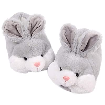 Amazon.com   Classic Bunny Slippers Cute Plush Animal Rabbit Slippers   Slippers