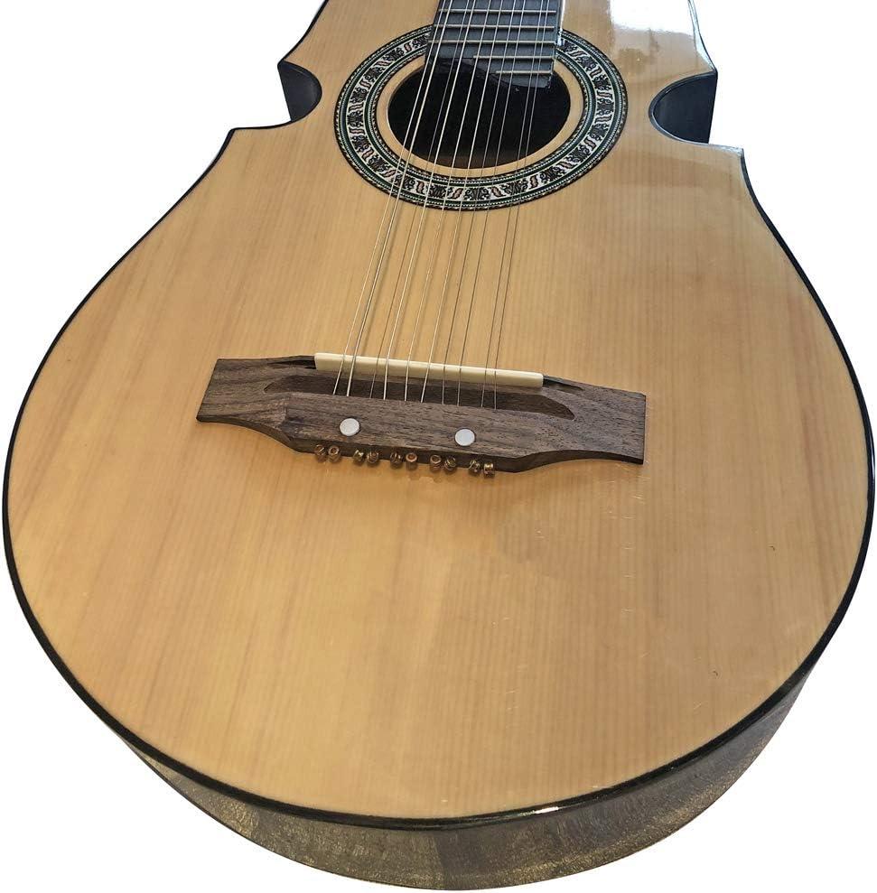 2019 - Panel de madera de abeto para guitarra, 86 cm, 10 cuerdas ...