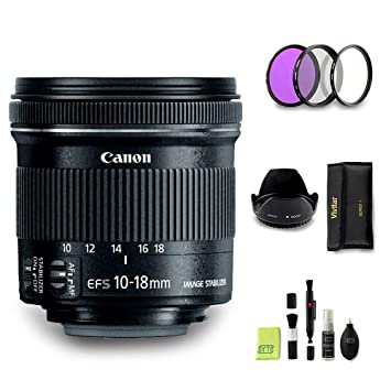 GYTE BUNDLE | Objetivo Canon - EF-S 10-18mm f/4,5-5,6 IS STM ...