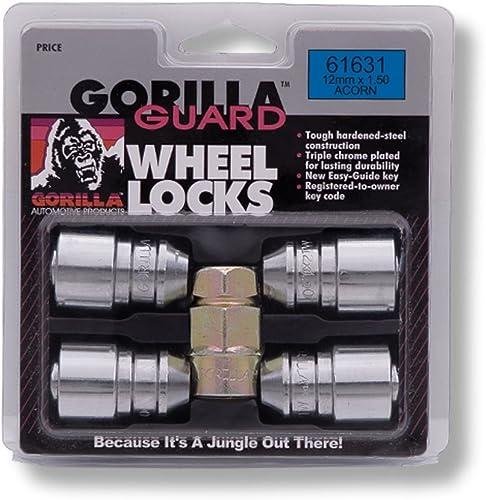 Gorilla Automotive 61631Guard Locks (12mm x 1.50 Thread Size)