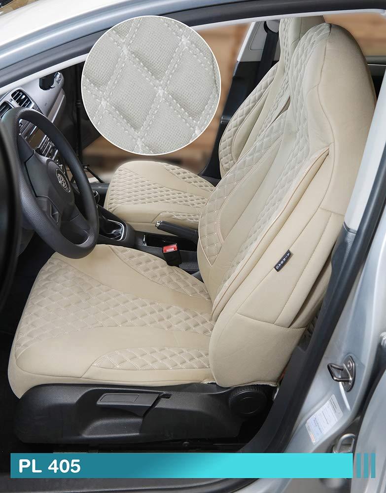 PL405 Ma/ß Sitzbez/üge kompatibel mit Mercedes Vito Viano W639 Fahrer /& Beifahrer ab Farbnummer