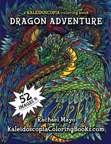Dragon Adventure Kaleidoscopia Coloring Book