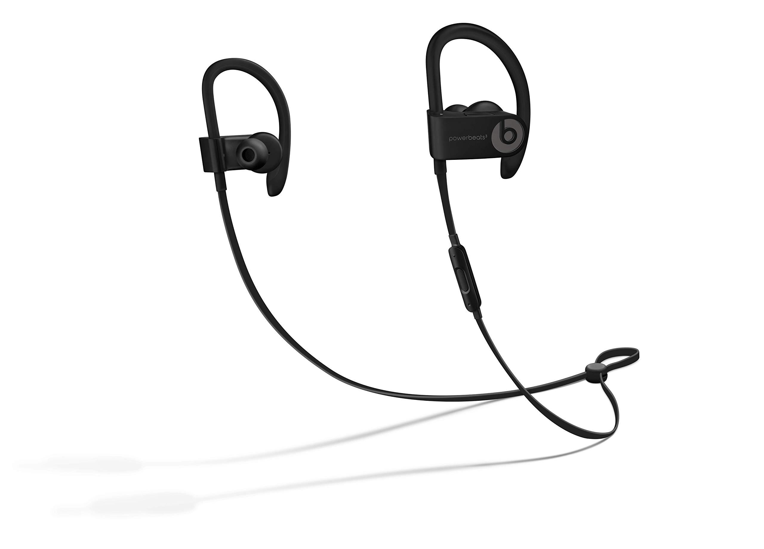 Powerbeats3 Wireless Earphones - Black by Beats
