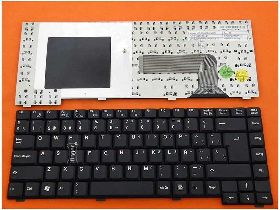 IFINGER Teclado español para Fujitsu Siemens Amilo PI2515 ...