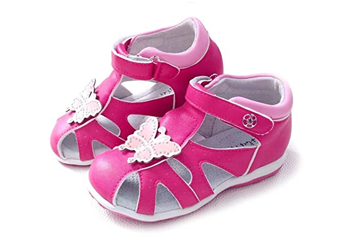 f10b89717e Amazon.com: Cute Lovely Summer Girl Flower Orthopedic Children Shoes Soft  Baby Sandals: Clothing