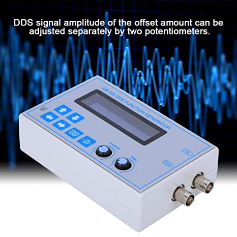 Triangular Square Wave DDS Signal Generator Signal Generator USB Cable 1Hz-65534 Hz DDS Frequency Range LCD Display Sine