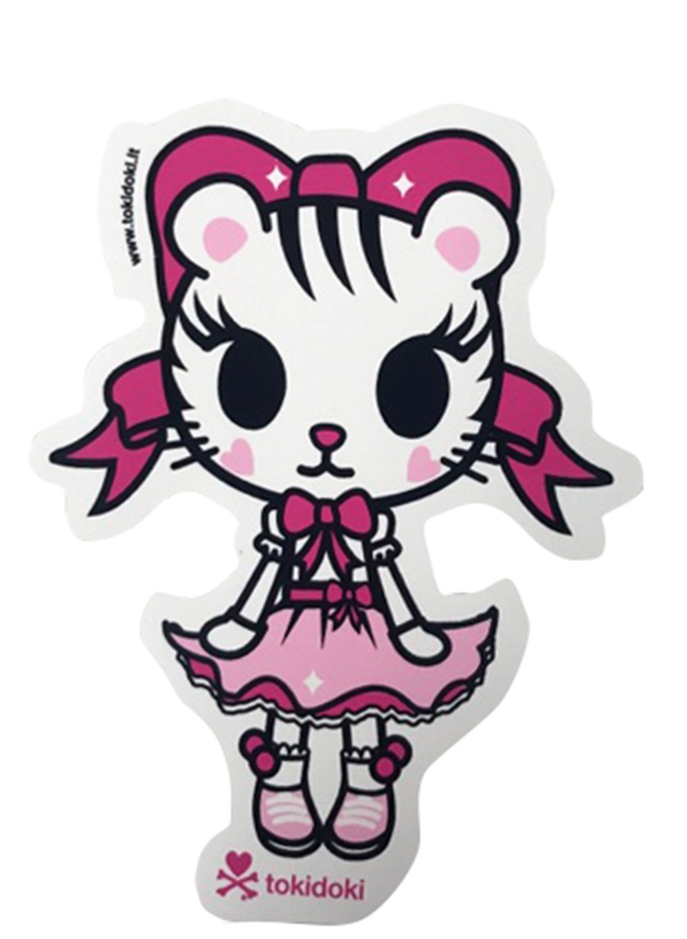 quality design 7f1ed 7c669 Amazon.com: Tokidoki Siberia (White Tiger Girl) Sticker ...