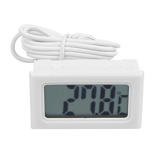 BNFUK Termometro Digital LCD para Refrigerador Congelador Nevera ...