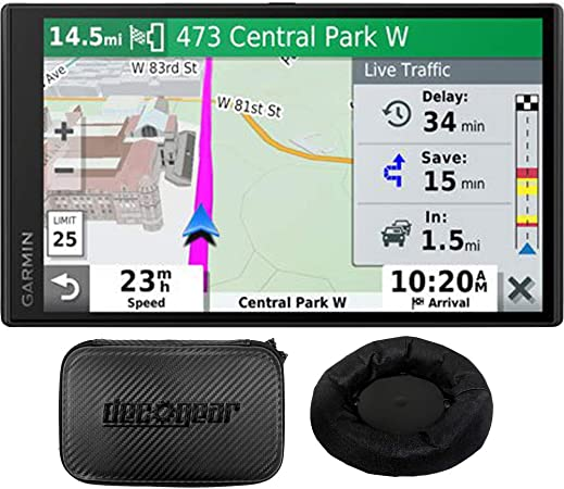 Garmin 010-N2153-00 DriveSmart 65 Premium Navigator with  Alexa Renewed
