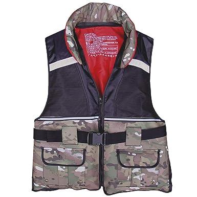 bc36ccb558 Hony Swim Vest Adult Float Jacket Boy Girl Inflatable Swimwear Safety  Clothes Unisex Camouflage