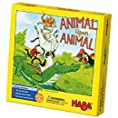 HABA Animal Upon Animal - Classic Wooden Stacking Game Fun for the Whole Family (Made in Germany)