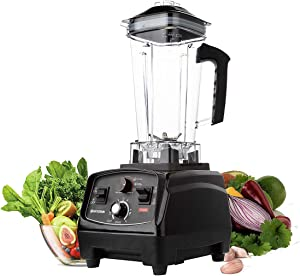 BATEERUN Professional Blender with 68 Oz Tritan Pitcher, 2000W High Speed Countertop Blender for Shakes and Smoothies with Adjustable Speeds Control, Commercial Smoothie Blender for Kitchen, Milkshake, Smoothie Maker BPA-Free