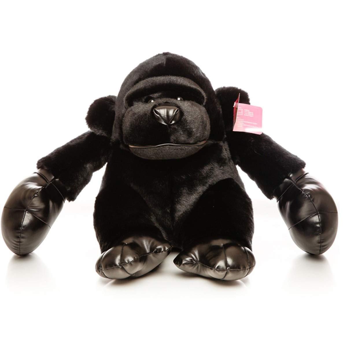 ぬいぐるみ大黒猿人形枕人形人形バレンタインデーギフト ( Color : 黒 , Size : 55ccm )
