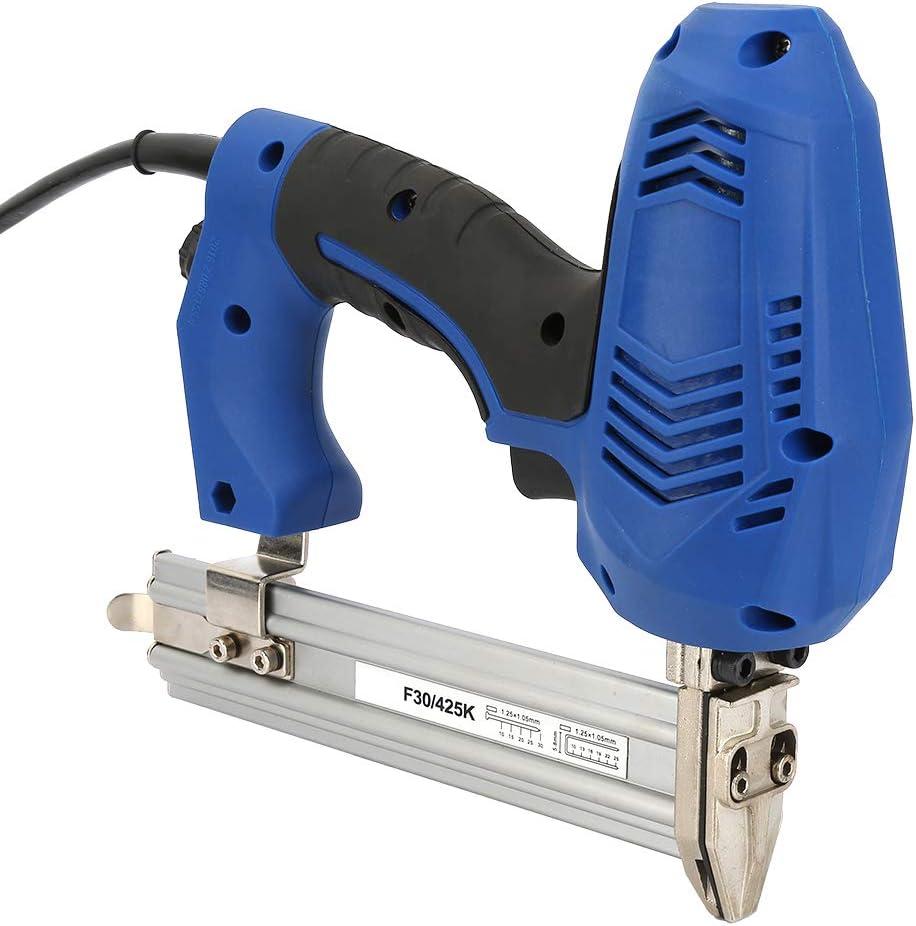 Kit de pistola de clavos eléctrica F30 / K425 Pistola de clavos eléctrica Clavadoras rectas para trabajar la madera Pistola de grapas eléctrica UE Plug 220V