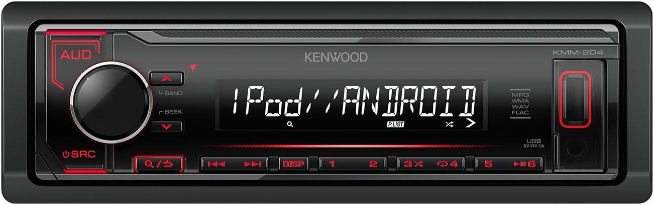 Kenwood Kmm 204 Digital Media Receiver Schwarz Navigation
