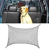 Pet Safety Net Car Suv Truck Van Seat Mesh Dog Barrier Safety Travel Black 10088cm